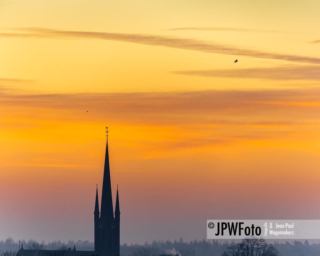 Zonsopkomst Martinuskerk Princenhage