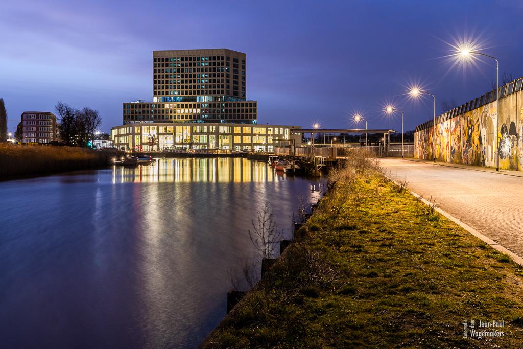 Gerechtsgebouw Breda, markkade, markkanaal, belcrumhaven