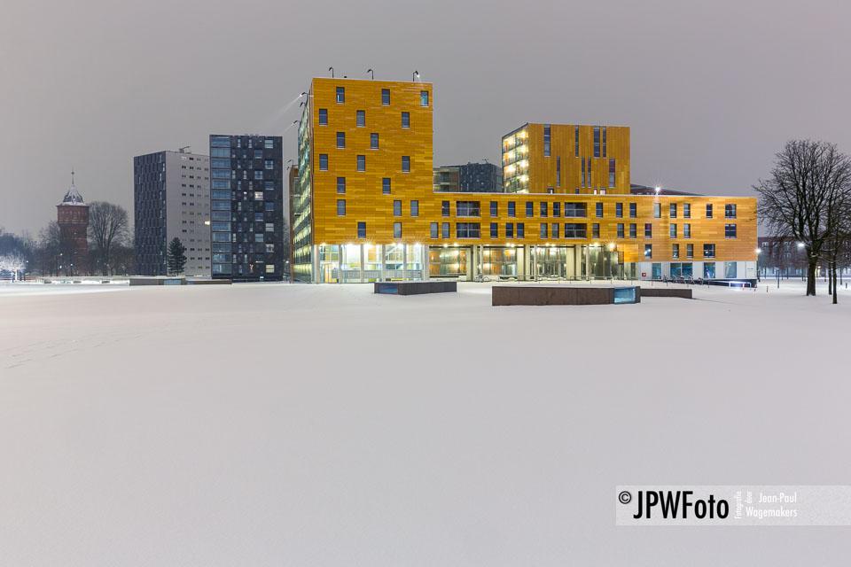 STADSGEZICHT | Een witte winterochtend aan de Chassépromenade
