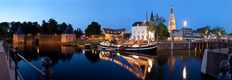 Historisch Breda vanaf Spanjaardsgat
