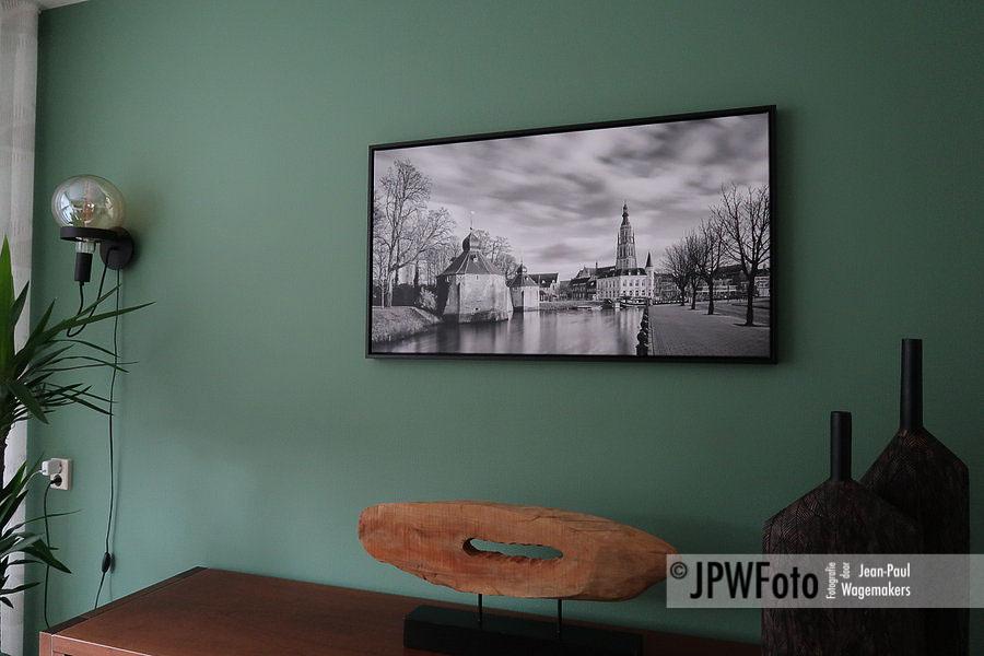 KLANTFOTO | Breda Spanjaardsgat op ingelijst canvas