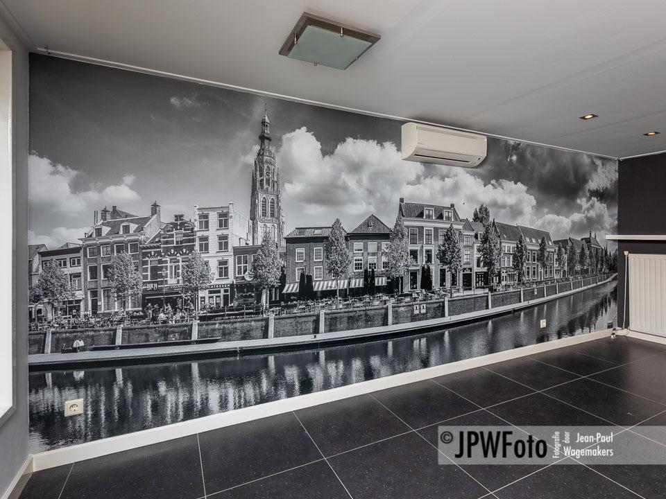 Groots panorama van Breda Haven op fotobehang