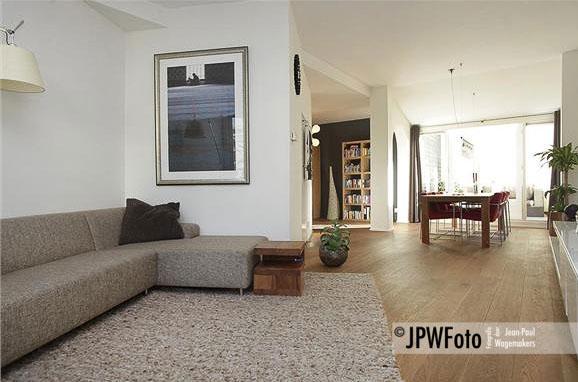Ingelijste fine art fotoprint in woonkamer